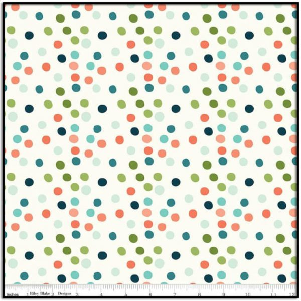 Ready Set Splash! Dots Cream C9894-CREAM