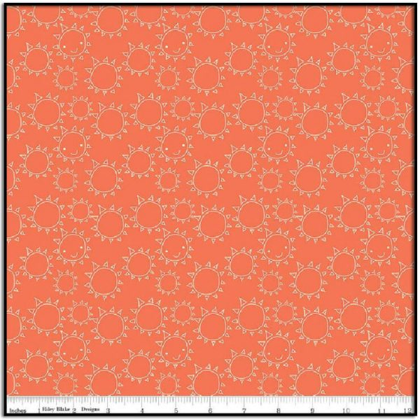 Ready Set Splash! Sun Coral C9893-CORAL
