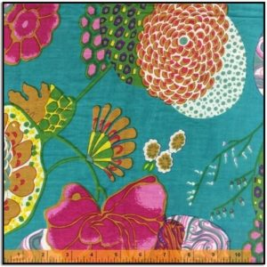 Kanta Multi-Color on Blue for Windham Fabrics 51746-X