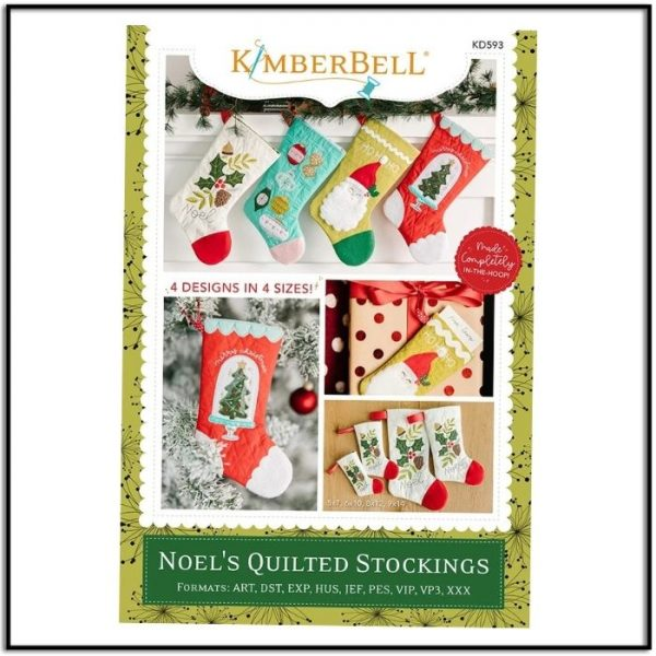 Kimberbell Noel's Quilted Stockings KD593