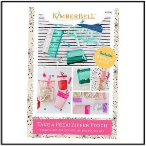 Kimberbell Take a Peek Zipper Pouch KS590