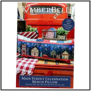 Kimberbell Main Street Celebration Embroidery CD KD5101