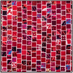 Mosaic Masterpiece S4808-568-Red-Velvet TINY