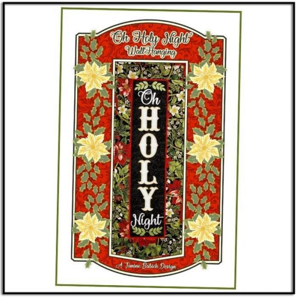 Oh Holy Night Wall Hanging by Janine Babich JBDOHN