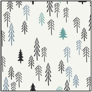 Art Gallery Fabrics Knit Loblolly Prin KC-1302