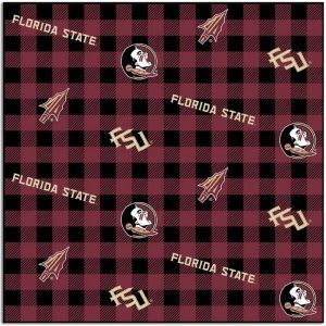 Florida State University Seminoles Fabric lFSU-1207