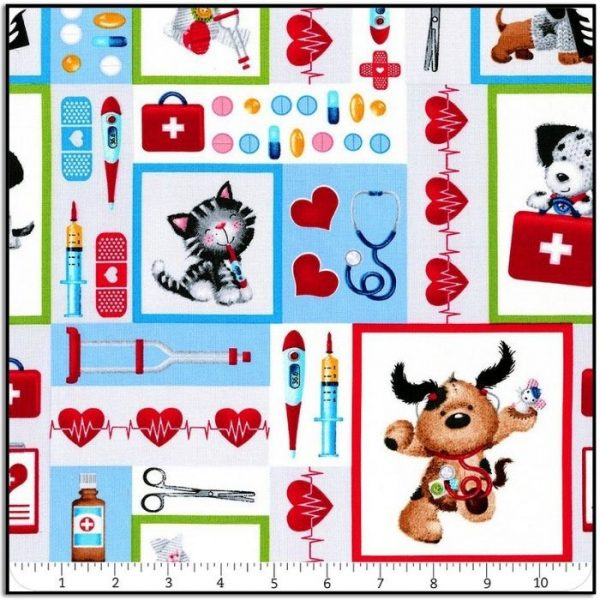 Henry Glass Big Hugs-Well Being Patchwork 9321-90