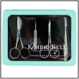 Kimberbell Deluxe Embroidery Scissors and Tools