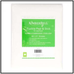 Kimberbell Fusible Peel and Stick Stabilizer KDST128