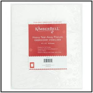 Kimberbell Heavy Tear-Away Precuts KDST109