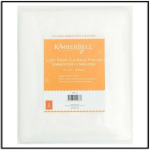 Kimberbell Light Mesh Cut-Away Precuts KDST11