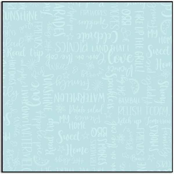 Kimberbell Red White and Bloom Wordy Word MAS9907-Q
