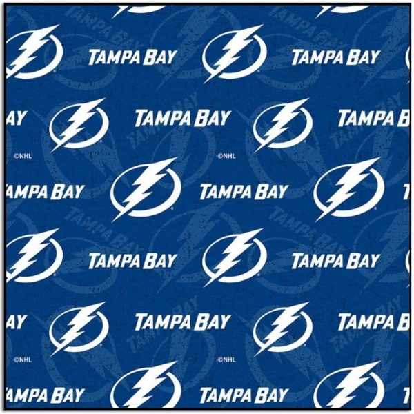 Tampa Bay Lightning Hockey Fabric 1199LGT