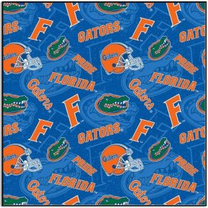 University of Florida Gator Fabric FL-1178