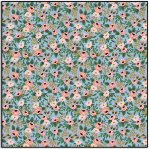 Rifle Paper Co Garden Party Rosa Chambray Metallic RP305-CH4M