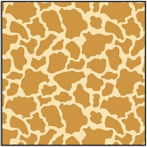 Wild and Free Giraffe Skin 9562-33 Tan