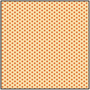 Wild and Free Small Set Dots 9567-43 Orange