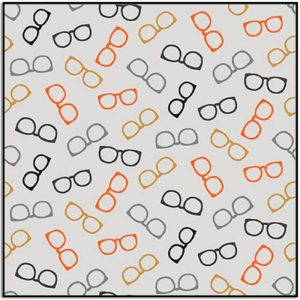Wild and Free Tossed Glasses 9565-91 Gray