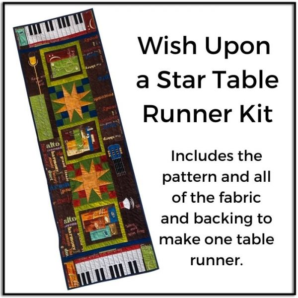 Wish Upon a Star Table Runner Kit
