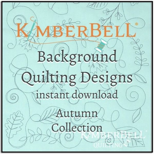 Kimberbell Background Quilting Autumn Title