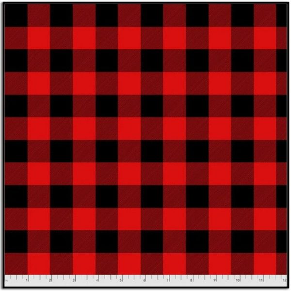 Tula Pink Check Yoself Holly Berry FNTP002.HOLLYBERRY